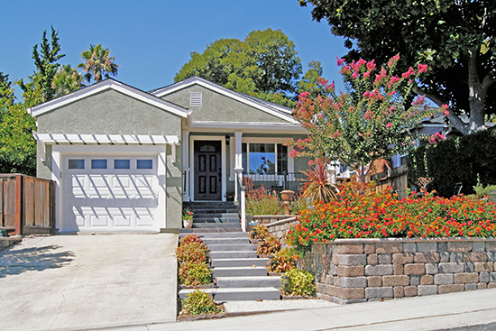This 1949 post-War home in Martinez, California has been transformed into a delightful cottage.